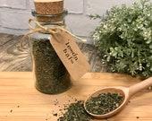 Lemon Balm - Herbal Tea -Blend - Loose Tea - Dried Leaf Tea- Options inc. Glass Bottle, Eco Packets Reusable Teabags - Tea Lover Gift