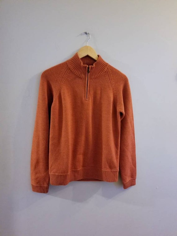 Brooks Brothers mock sweater.