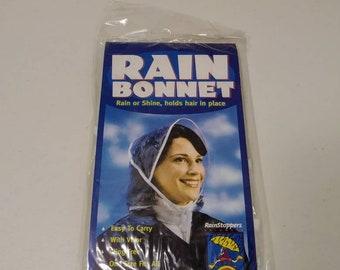 Vintage Rain Bonnet Cap a32e0abfaff8