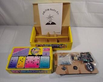 Vintage Radio Shack AM/FM Radio Science Project Kit