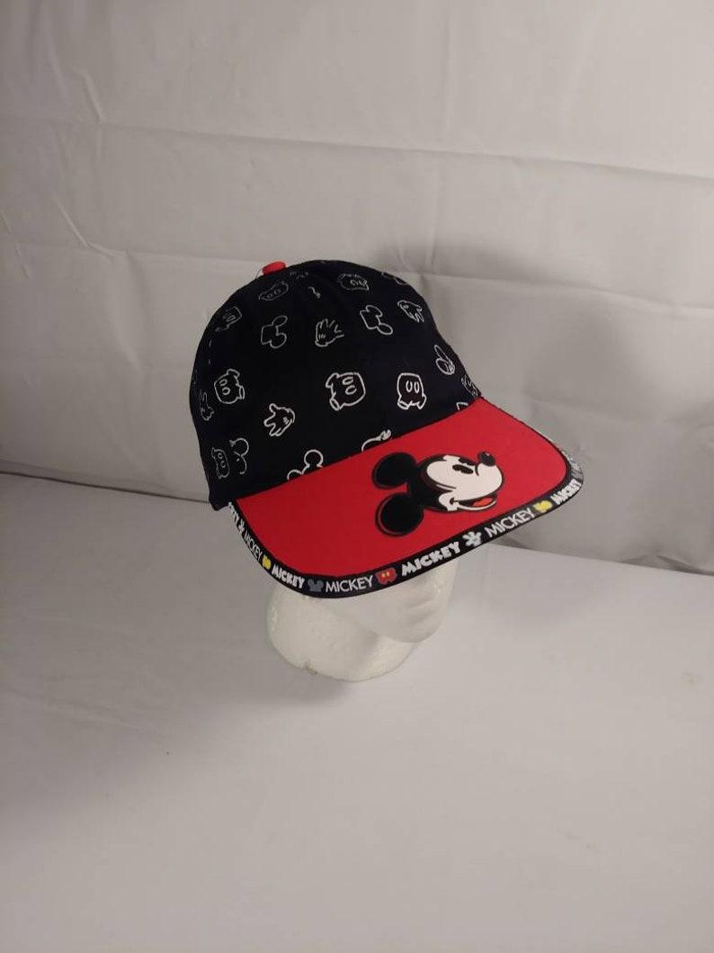 c8a86d40f6a41 Vintage Walt Disney Mickey Mouse Child s Snapback Hat