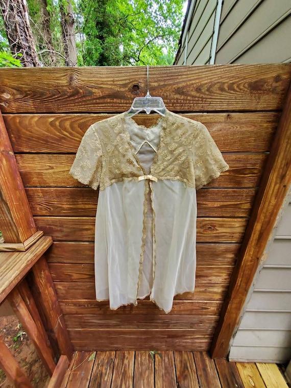 Vintage Vanity Fair Nightgown Robe