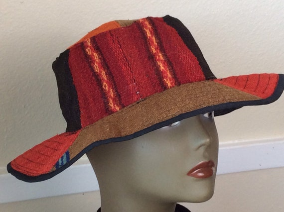 Vintage Bucket Hat/ Dormeuil England Hat/Patch Buc