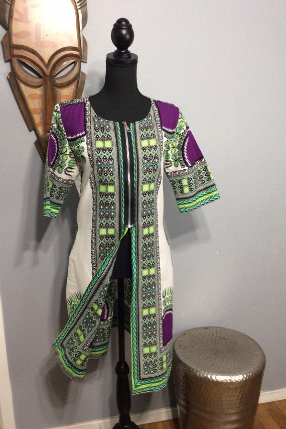 African Tunic/ African Long Top/ M-L African Tunic