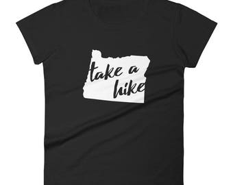 Take a Hike fitted short sleeve t-shirt