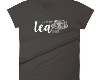 Tea Shirt Fitted short sleeve t-shirt