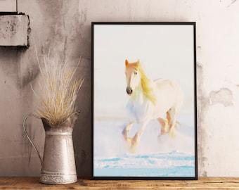 Horse horse print horse art print horse art abstract horse oil painting Horse landscape print horse decor horse art large digital download
