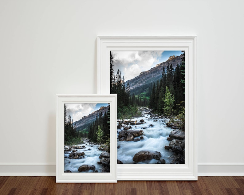 Scenic forests River landscape nature forest INSTANT image 0
