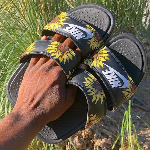 Nike Benassi Duo Ultra Sunflower Slides