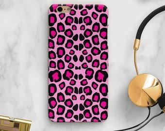 pink leopard phone case, pink iPhone case, leopard cell phone case, pink leopard iPhone x case, Samsung s9 case, s9 case, s8 case, SE case
