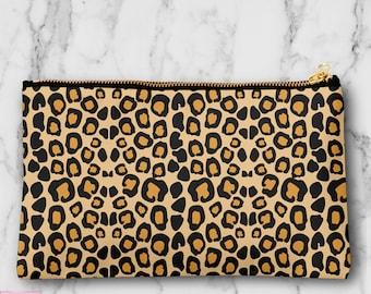 241a480fe34d Leopard cosmetic bag