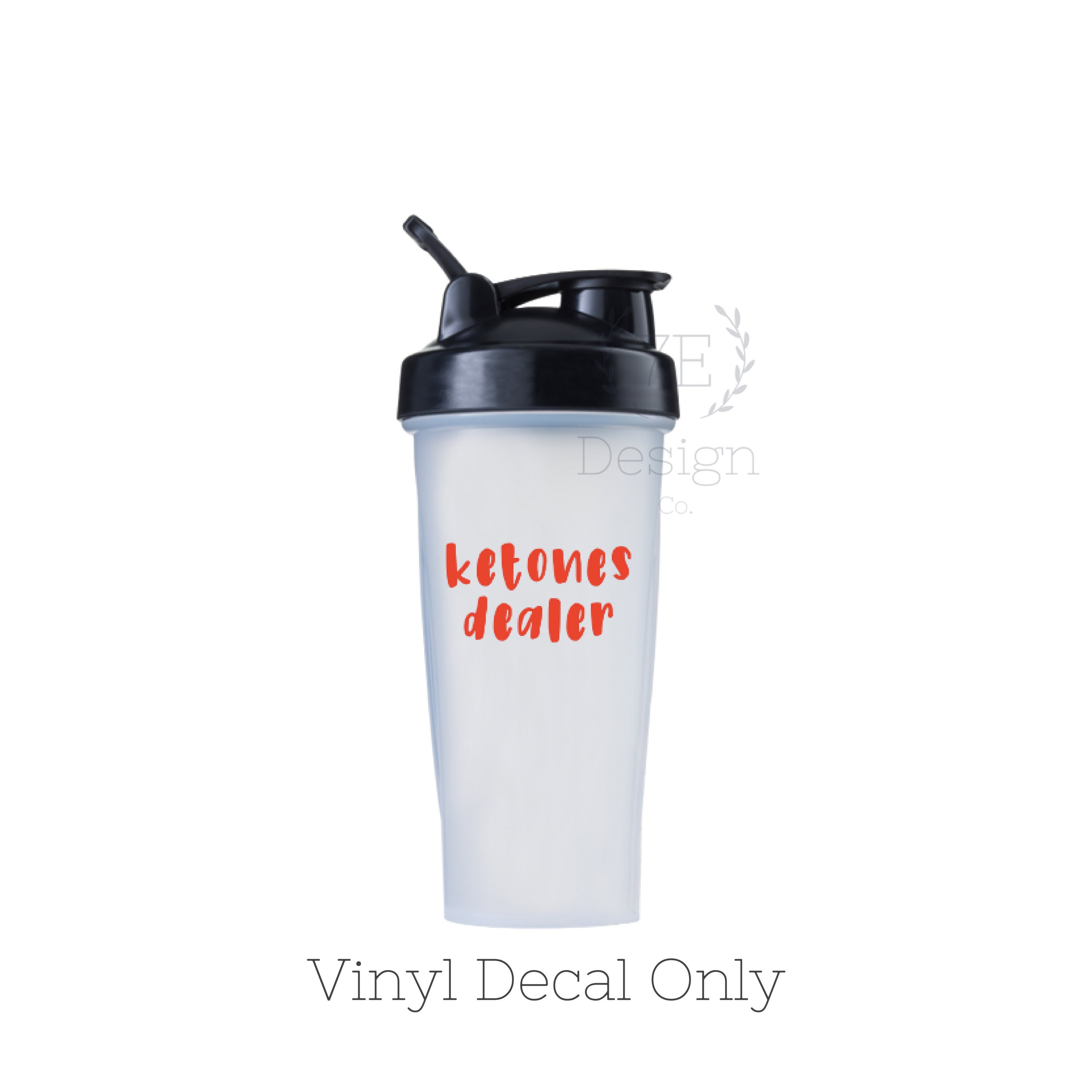 Vinyl Decal Sticker Ask Me About Ketones