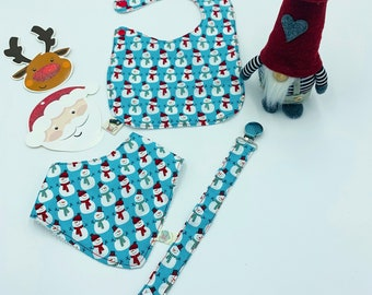 Baby Set 3 Pieces Snowman