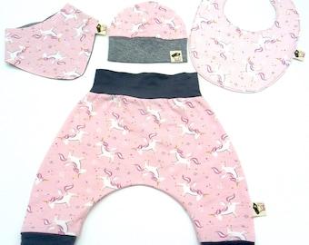 Baby Unicorn Set 4 Pieces