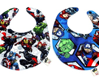 Set bibs Super Marvel Heroes