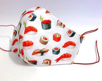 Hygienic mask model sushi