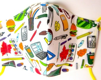 Reusable hygienic mask back to school