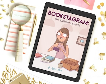 Bookstagram Ultimate Guide ebook, How to Bookstagram, Bookstagram Tips, How to Start a Bookstagram, Bookstagram ebook, Guide to Bookstagram