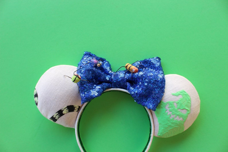 Sally Ears READY TO SHIP Oogie Ears Oogie Man Ears Halloween Ears Boogie Ears Boogie Man Ears Jack Ears