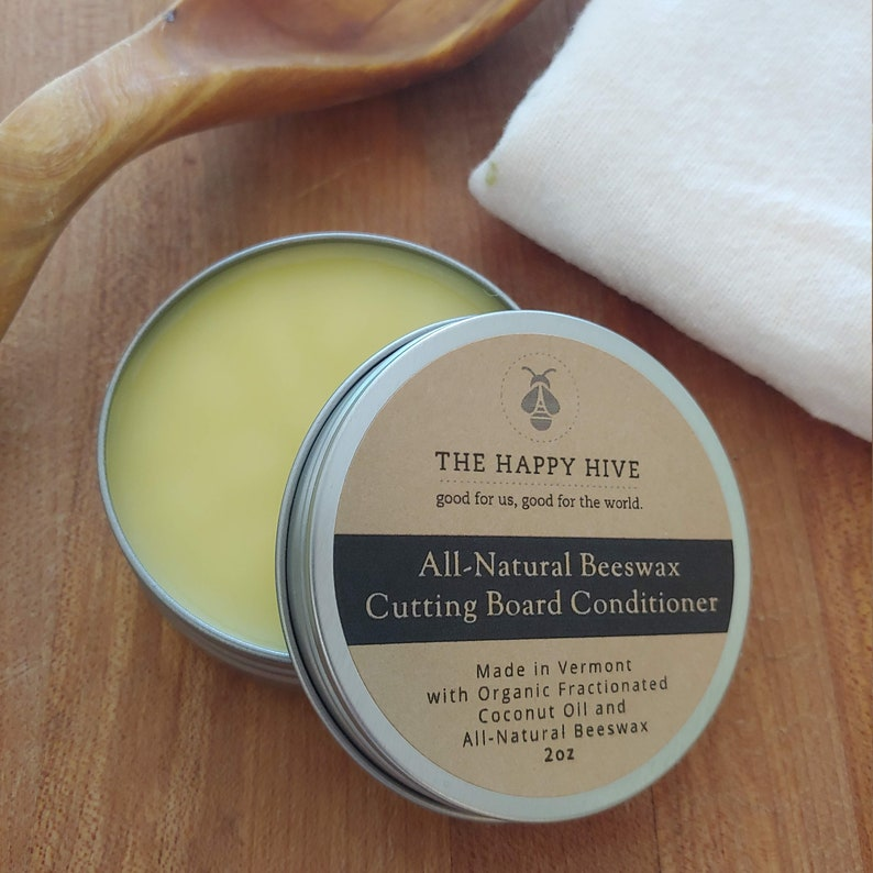 Beeswax Cutting Board Conditioner image 1
