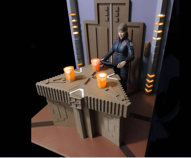 photo about Printable Diorama identify Stargate Atlantis ZPM Diorama Design Package (3D Printable STL Documents)