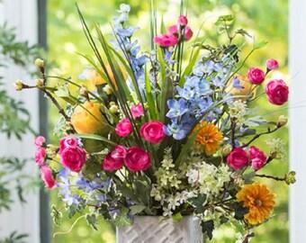 Pastel Garden Arrangement