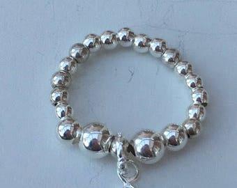 Sterling Silver SUN & MOON CELESTIAL Ring
