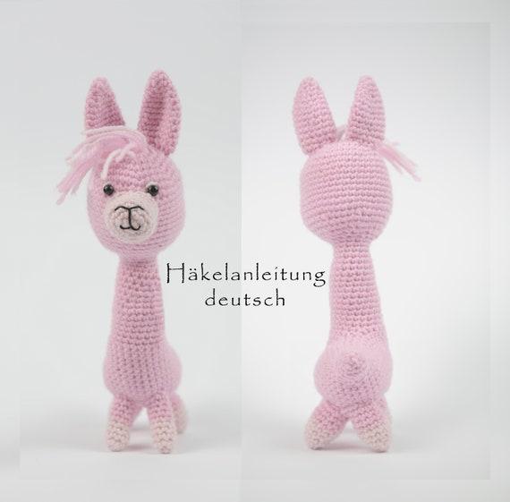 Lama häkeln • PDF Häkelanleitung • Deutsch • Amigurumi from ...
