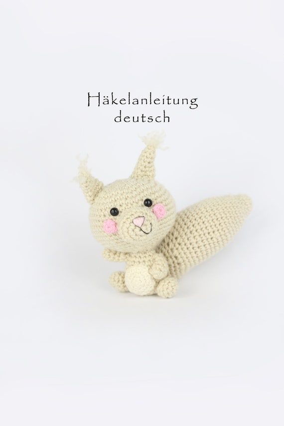 Eichhörnchen Häkeln Pdf Häkelanleitung Deutsch Amigurmi Etsy