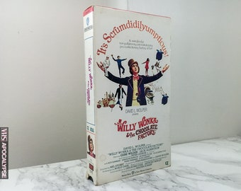 Willy Wonka and the Chocolate Factory (1971) VHS