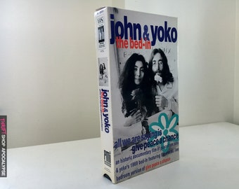 John & Yoko : The Bed In (1990) VHS