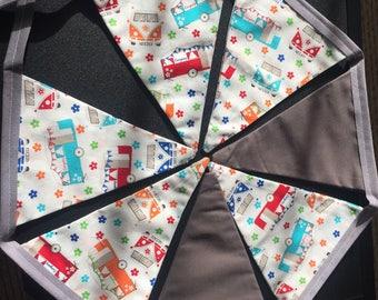 Camper Van bunting (7 flags)