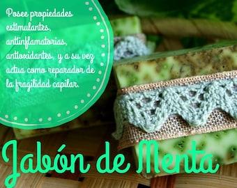 Medicinal Mint Soap