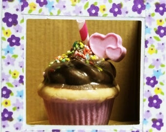 Handmade Soap Chocolate cupcake