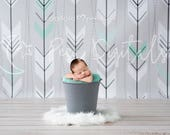 Grey Bucket Backdrop, Newborn Digital Backdrop, Grey Backdrop, Newborn Backdrop, Newborn Bucket, Natural Backdrop, Newborn, Grey, Arrows