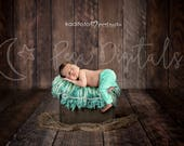 Newborn Digital Backdrop, Newborn Backdrop, Backdrop Wooden Bed, Natural Backdrop, Newborn, Natural Wood Background, Wooden Bed Backdrop