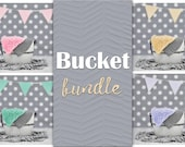 Bucket Digital Backdrop Bundle, Bucket Backdrop, Newborn Backdrop Bundle, Natural Backdrop, Wooden Bucket, White Bucket Backdrop