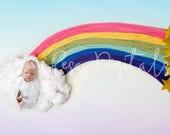 Rainbow Backdrop, Digital Backdrop, Newborn Digital Backdrop, Rainbow Newborn Backdrop, Newborn Backdrop, Rainbow Digital Backdrop