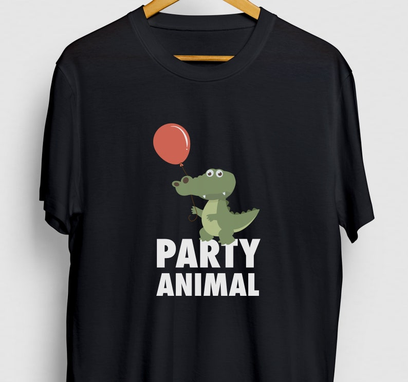 Alligator Hoodie  Youth Shirt  Unisex T-shirt Funny Animal Shirt Funny Crocodile tee Party Animal Alligator Gift