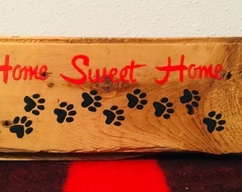 Home sweet home puppy paws