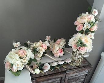Blush Bouquet Package