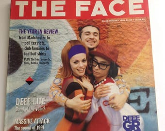 The Face Magazine - January 1991 - Deee Lite