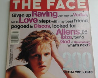 The Face Magazine - January 1997 - 200th Issue w/ Stella Tenant