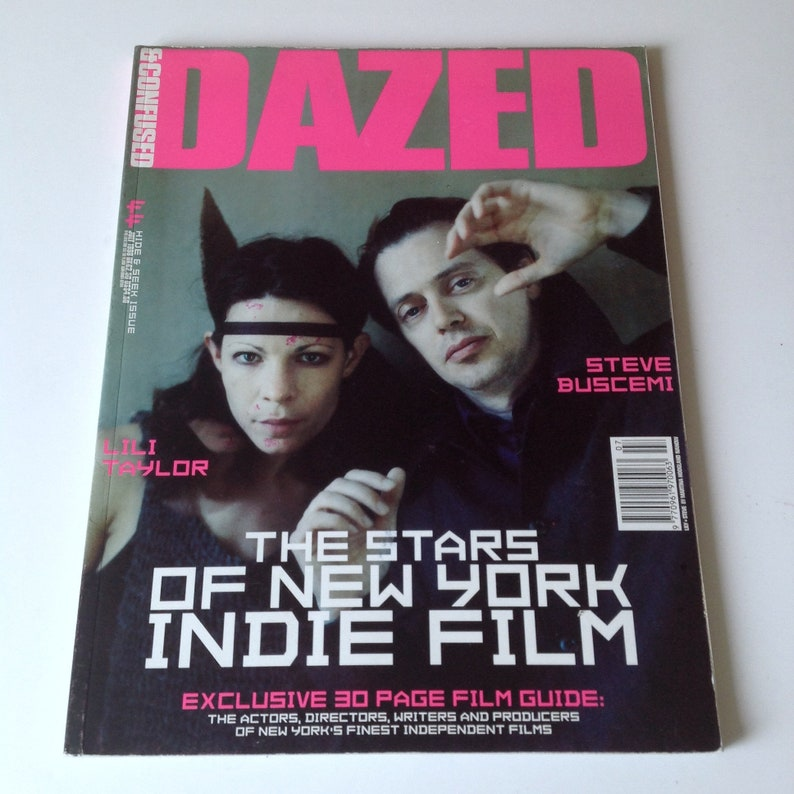 Dazed And Confused Magazine - July 1998 Issue 44 - Steve Buscemi & Lili  Taylor