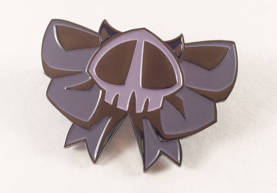 Cheap Price Skull Ribbon Bow Lapel Pin Badge Pin Arts,crafts & Sewing