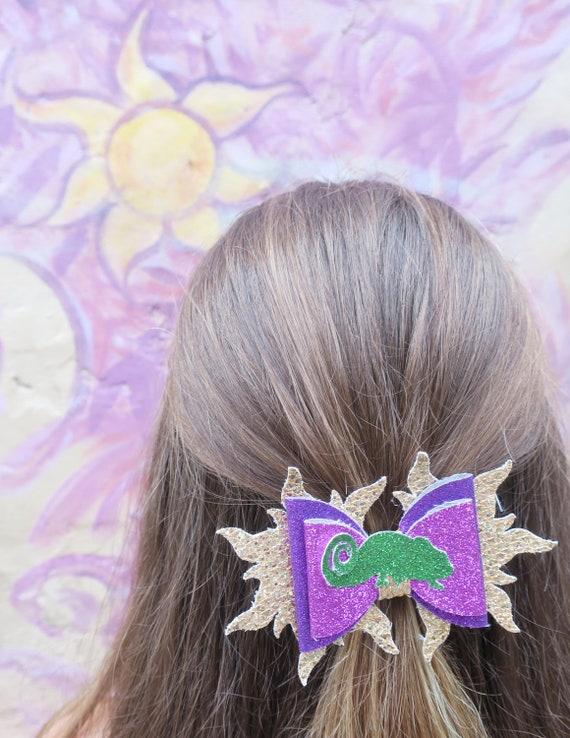digital svg dxf pdf rapunzel hair bow template etsy