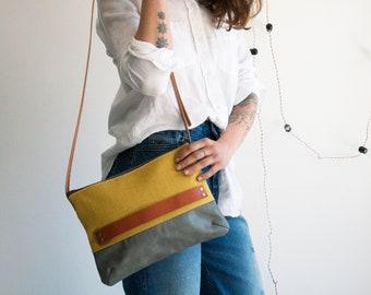 Shoulder purse, Canvas shoulder bag, Shoulder bag purse, Cross body bag, Festival bag, Purse with strap, Ladies purse bag,