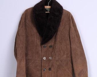 Confezioni Di Lusso Sarpell Mens 54 XXL Coat Double Breasted Italy Vintage