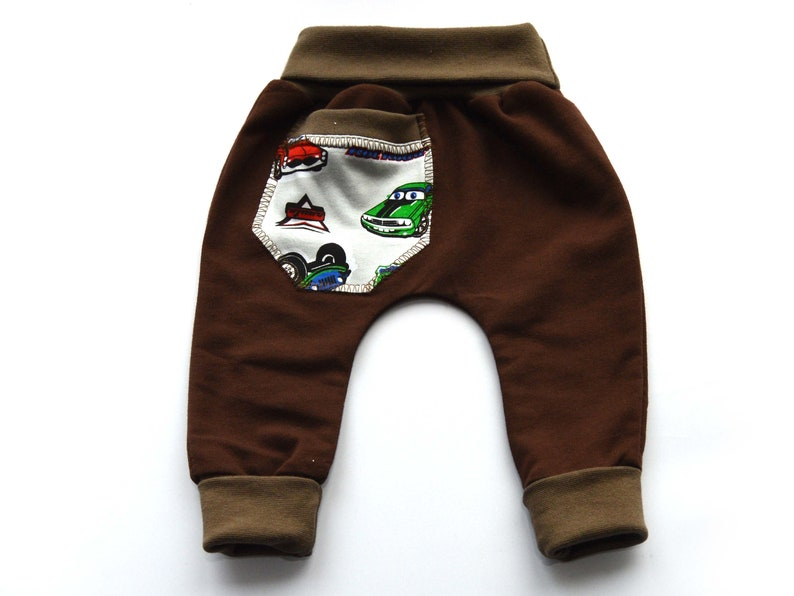 266ed4a8a Brown cotton pants leggings baggy sizes 6 months for girl