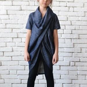NEW Plus Size CoatBurgundy and Black Oversize TunicAsymmetric Extra Long TopLong Sleeve Zipper JacketA Line Casual Maxi Tunic METC0080
